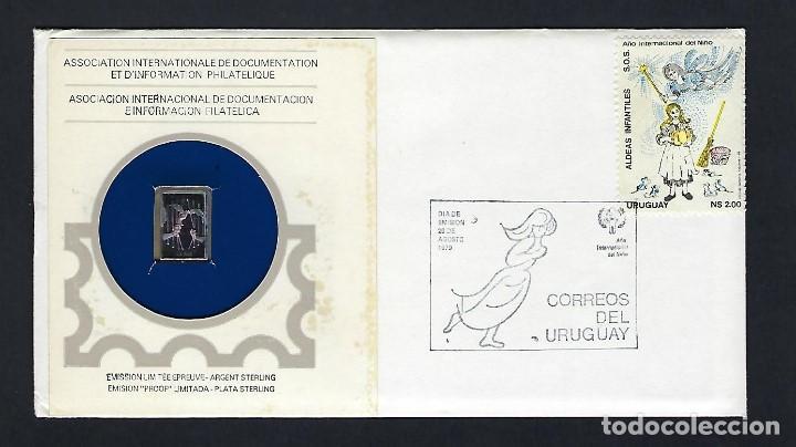 URUGUAY. AÑO 1979. AÑO INTERNACIONAL DEL NIÑO. (Sellos - Historia Postal - Sellos otros paises)