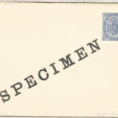 Sellos: ST KITSS NEVIS ENTERO POSTAL MUESTRA SPECIMEN STATIONERY COLON COLUMBUS. Lote 194139688