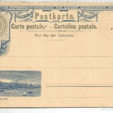 Sellos: SUIZA ENTERO POSTAL 1894 STATIONERY CARD. Lote 194140980