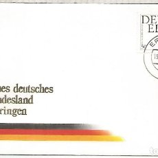 Sellos: ALEMANIA FEDERAL DEUTSCHE EINHEIT 1990 ERFURT. Lote 194989643