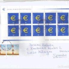Sellos: ALEMANIA CC SELLO EURO COIN MONEDA FARO LIGHTHOUSE. Lote 194992538