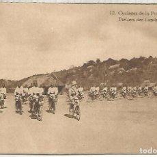 Sellos: CONGO BELGA ENTERO POSTAL POLICIAS EN BICICLETA POLICE CYCLING . Lote 195224478