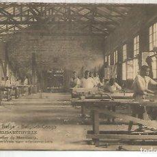 Sellos: CONGO BELGA ENTERO POSTAL CARPINTERIA MADERA LUMBER CARPENTRY. Lote 195224827