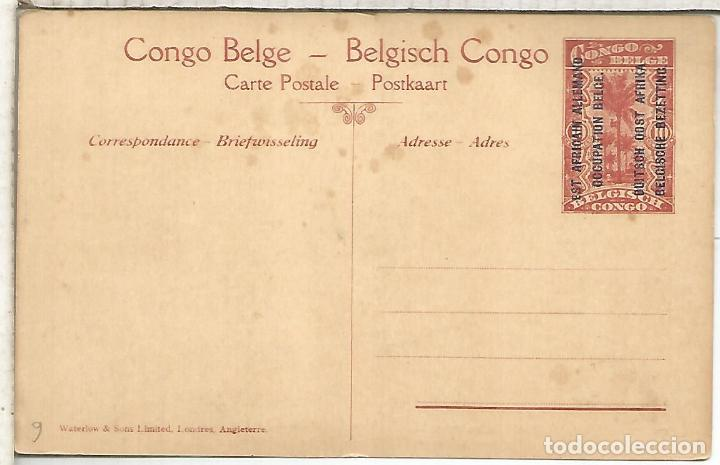 Sellos: CONGO BELGA ENTERO POSTAL TRANSPORTE POR HUMANOS HUMAN TRANSPORT - Foto 2 - 195225276