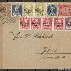 Sellos: ALEMANIA IMPERIO.1920.MI 123, 2X19,128,159,4X121,122. Lote 199362538