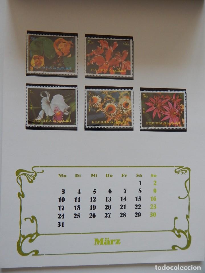 Sellos: Calendario filatélico Alemania 1986 / Briefmarken Kalender 1986 - VEB Philatelie Wermsdorf - Foto 8 - 202078157