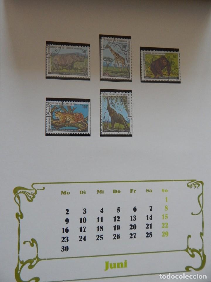 Sellos: Calendario filatélico Alemania 1986 / Briefmarken Kalender 1986 - VEB Philatelie Wermsdorf - Foto 11 - 202078157