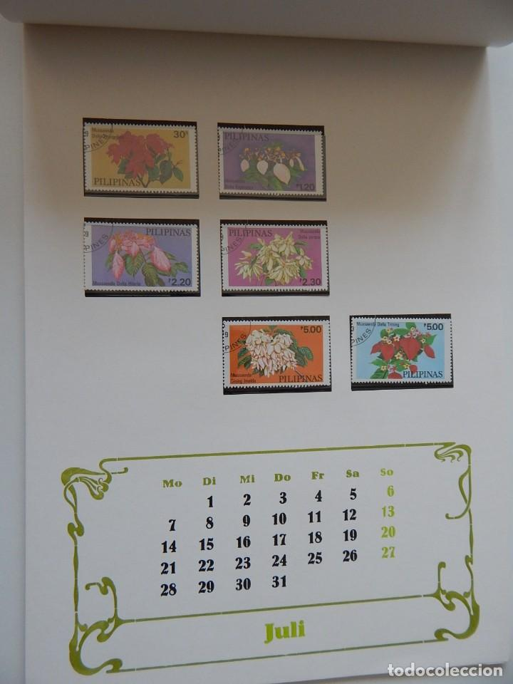 Sellos: Calendario filatélico Alemania 1986 / Briefmarken Kalender 1986 - VEB Philatelie Wermsdorf - Foto 12 - 202078157