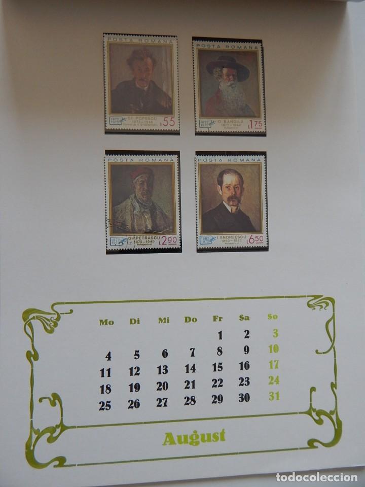 Sellos: Calendario filatélico Alemania 1986 / Briefmarken Kalender 1986 - VEB Philatelie Wermsdorf - Foto 13 - 202078157