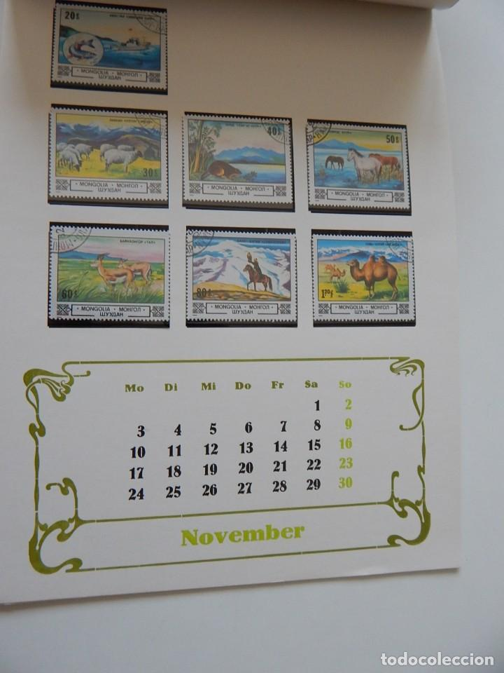 Sellos: Calendario filatélico Alemania 1986 / Briefmarken Kalender 1986 - VEB Philatelie Wermsdorf - Foto 16 - 202078157