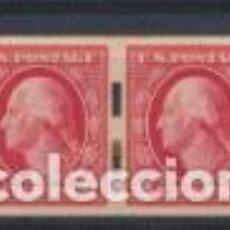 Francobolli: ESTADOS UNIDOS. 2 CENTS. DE ROLLO. PAREJA. YVERT 183A *. Lote 203277253
