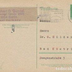 Sellos: ALEMANIA ORIENTAL, ENTERO POSTAL, EL PRESIDENTE WALTER ULBRICHT, 10 PFENNIG. Lote 206248485