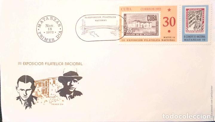 CUBA. 5 SOBRES PRIMER DÍA. REF: V128. VER FOTOS DEL LOTE (Sellos - Historia Postal - Sellos otros paises)