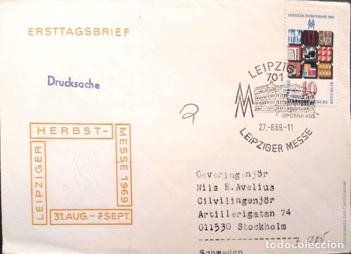 Sellos: DDR. 5 Sobres Primer Día/Circulad Ref: V130. Ver fotos del lote - Foto 3 - 206275495