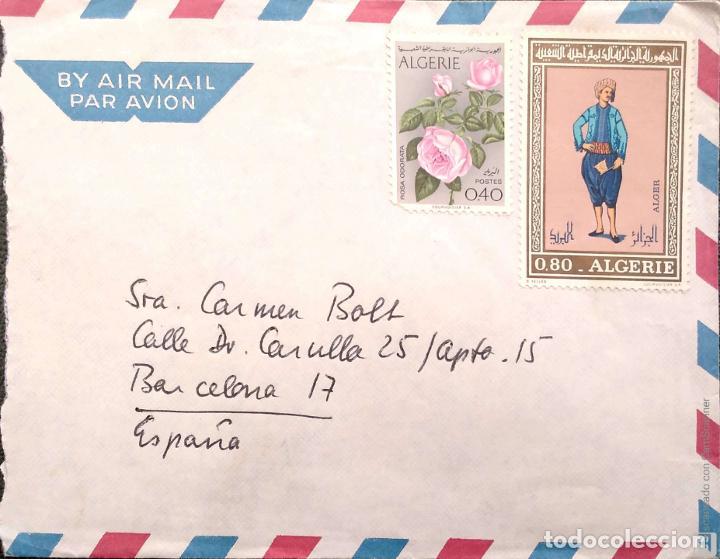 Sellos: Argelia. 7 Sobres Primer Día/Circulados. Ref: V134. Ver fotos del lote - Foto 2 - 206286608