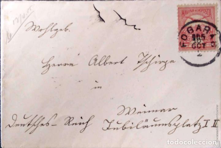 Sellos: Hungría. 5 Tarjetas Postales mataselladas/Sobres circulados. Ref: V136. Ver fotos del lote - Foto 4 - 206287606