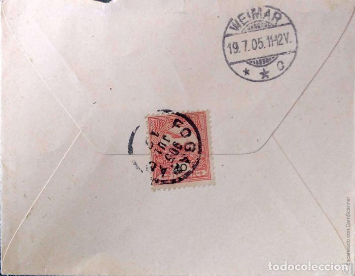 Sellos: Hungría. 5 Tarjetas Postales mataselladas/Sobres circulados. Ref: V136. Ver fotos del lote - Foto 6 - 206287606