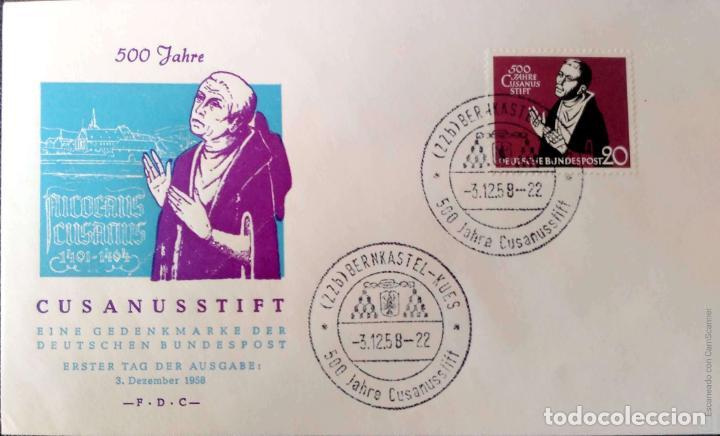 Sellos: Alemania. 5 Sobres circulados/Matasello Primer Día/Tarjeta. Ref: V138. Ver fotos del lote - Foto 2 - 206289353
