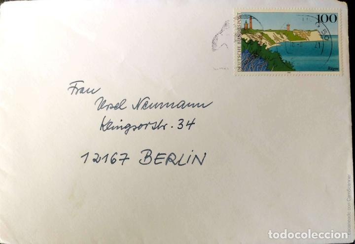 Sellos: Alemania. 5 Sobres circulados/Matasello Primer Día/Tarjeta. Ref: V138. Ver fotos del lote - Foto 3 - 206289353