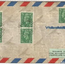 Sellos: REINO UNIDO 1945 CORREO MILITAR CZECOSLOVAK FIELD POST OFFICE. Lote 206374572