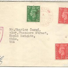 Sellos: REINO UNIDO 1944 CORREO MILITAR CZECOSLOVAK FIELD POST OFFICE. Lote 206374976