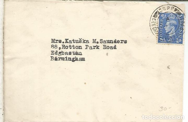 REINO UNIDO 1943 CORREO MILITAR CZECOSLOVAK FIELD POST OFFICE (Sellos - Historia Postal - Sellos otros paises)