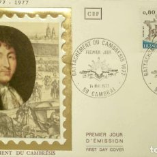 Francobolli: FRANCIA. SPD 1932 ANEXIÓN DEL CAMBRESIS. 1977. MATASELLO PRIMER DÍA. Lote 208442380