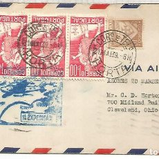 Sellos: PORTUGAL 1939 HORTA PRIMER VUELO. Lote 210360543