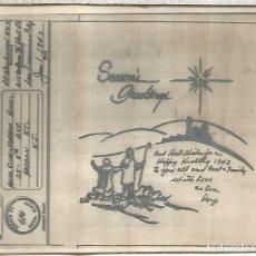 Sellos: ESTADOS UNIDOS USA V-MAIL AIRGRAPH SEGUNDA GUERRA MUNDIAL PASCUA EASTER RELIGION 1943 CON SOBRE. Lote 210360815
