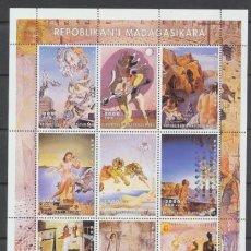 Sellos: MADAGASCAR 1999. SALVADOR DALÍ. HB **. Lote 210959015