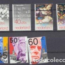 Sellos: HOLANDA 1979. 2 SERIES. YVERT 1107-10 Y 1122-24 **. Lote 210959019