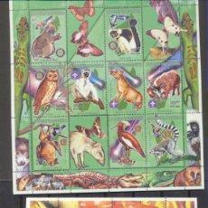 Sellos: MADAGASCAR 1999. 2 HB ** ANIMALES. Lote 210959034