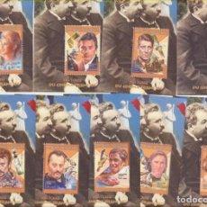 Sellos: MADAGASCAR 1999. HISTORIA DEL CINE FRANCÉS 9 HB **. Lote 210959051