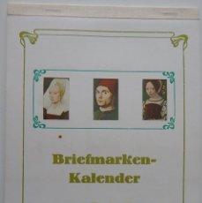 Sellos: CALENDARIO FILATÉLICO ALEMANIA 1986 / BRIEFMARKEN KALENDER 1986 - VEB PHILATELIE WERMSDORF. Lote 212067566