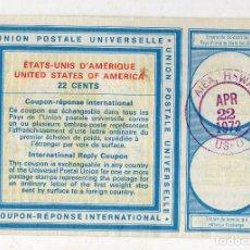 Sellos: USA 22 CÉNTIMOS. HAWAI 22 DE ABRIL DE 1972. Lote 212474593