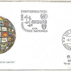 Sellos: NACIONES UNIDAS ALEMANIA 1974 HAMBURG VEREINTEN NATIONEN. Lote 213998717