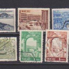 Francobolli: MACAO. VISTAS DE LA COLONIA. 11 SELLOS USADOS. Lote 214633158