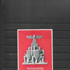 Sellos: ALEMANIA III REICH TARJETA POSTAL CONMEMORATIVA 1936. Lote 217905612