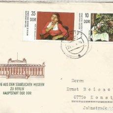 Sellos: ALEMANIA DDR CC COLBITZ ARTE MUSEOS BERLIN PINTURA. Lote 218726262