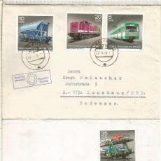 Sellos: ALEMANIA DDR CC COLBITZ FERROCARRIL RAILWAY TREN. Lote 218728582