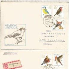 Sellos: ALEMANIA DDR CC COLBITZ CERTIFICADA AVE PAJARO BIRD. Lote 218728951