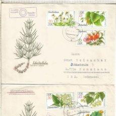 Sellos: ALEMANIA DDR CC COLBITZ FLORA VEGETAL PLANTAS FLOWER. Lote 218730080