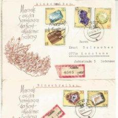 Selos: ALEMANIA DDR CC COLBITZ CERTIFICADA MINERAL MINNING. Lote 218815488