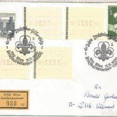 Sellos: AUSTRIA WIEN 1990 SCOUT. Lote 222863892