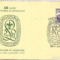 Sellos: AUSTRIA LAXENBURG SCOUT. Lote 222864696