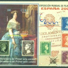Francobolli: 4326 CUBA 2000 MNH WORLD STAMP EXHIBITION ESPANA 2000 - MADRID, SPAIN. Lote 228164792