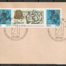 Sellos: ALEMANIA DDR. 1967. CARTA POSTAL. YT 1019A. 10ª EXPOSICIÓN MAESTROS DEL MAÑANA.. Lote 229673935