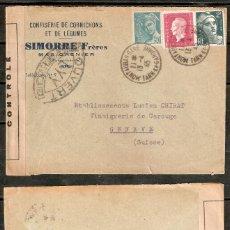 Sellos: FRANCIA.1945. CENSURA. Lote 231586700