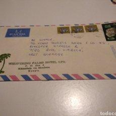 Sellos: PAPEL WHISPERING PALMS HOTEL, KENIA. Lote 236798640