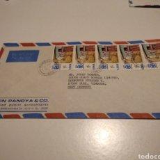 Sellos: SOBRE SELLOS KENIA EXPO 86 CANADA. Lote 236801580